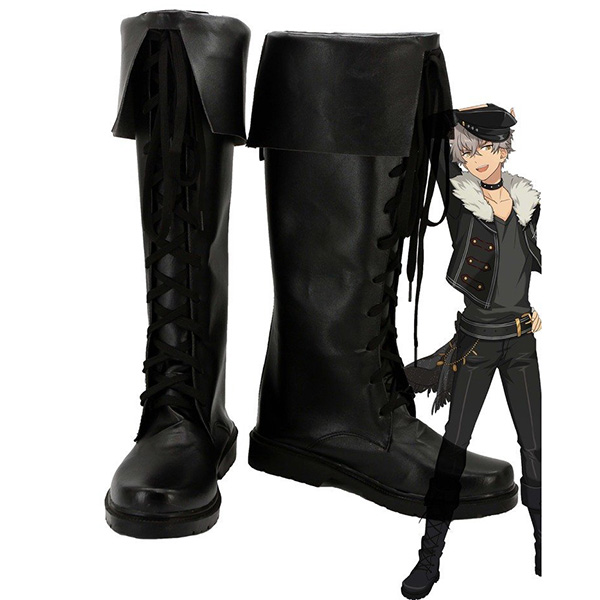 Ensemble Stars Oogami Koga Cosplay Boots Custom Made Shoes