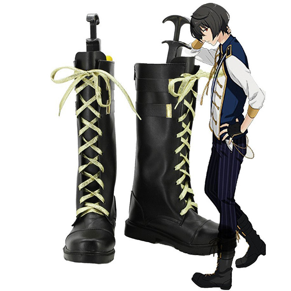 Ensemble Stars Sakuma Ritsu Knights Cosplay Boots Custom Made Shoes