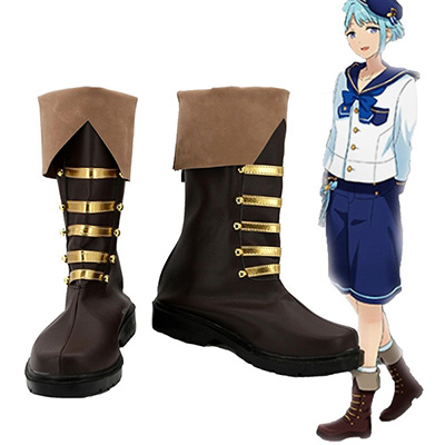 Ensemble Stars Shino Hajime Cosplay Boots Custom Made Shoes