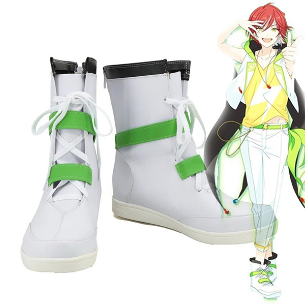 Ensemble Stars Switch Natsume Sakasaki Cosplay Boots Custom Made Shoes