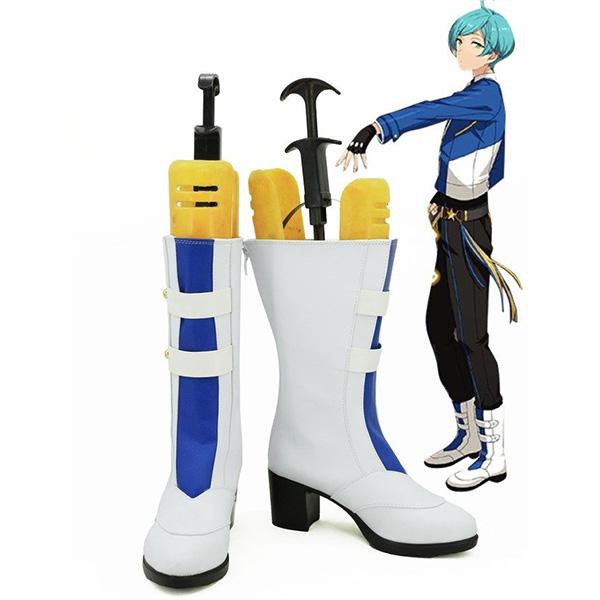 Ensemble Stars Trickstar Shinkai Kanata Cosplay Boots Custom Made Shoes