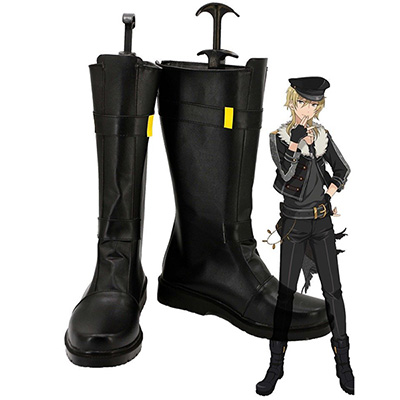 Ensemble Stars Undead Hakaze Kaoru Cosplay Boots Custom Made Shoes
