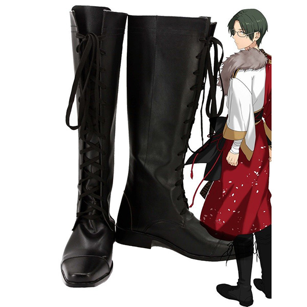 Ensemble Stars Undead Hasumi Keito Cosplay Boots Custom Made Shoes
