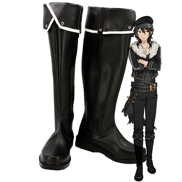 Ensemble Stars Undead Sakuma Rei Cosplay Boots Custom Made Shoes