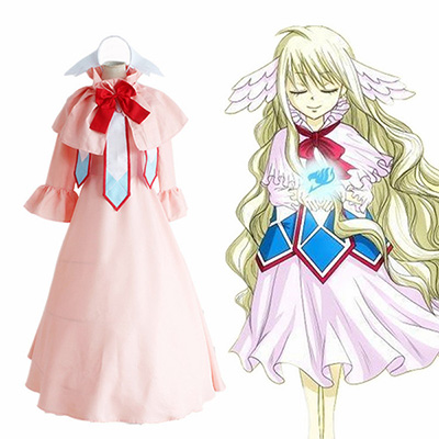 Costume Fairy Tail First Guild Master Cosplay Déguisement Fairy Adviser Mavis Vermil