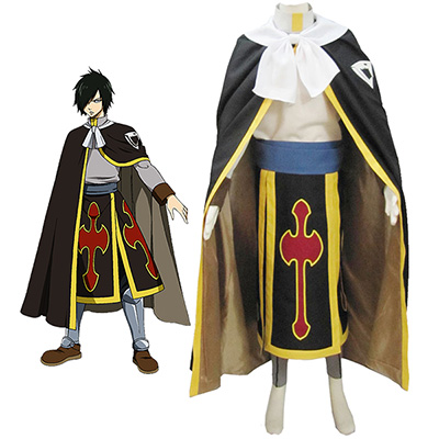 Fairy Tail Dragon Slayer Shadow Dragon Rogue Cheney Ryos Cosplay Kostym