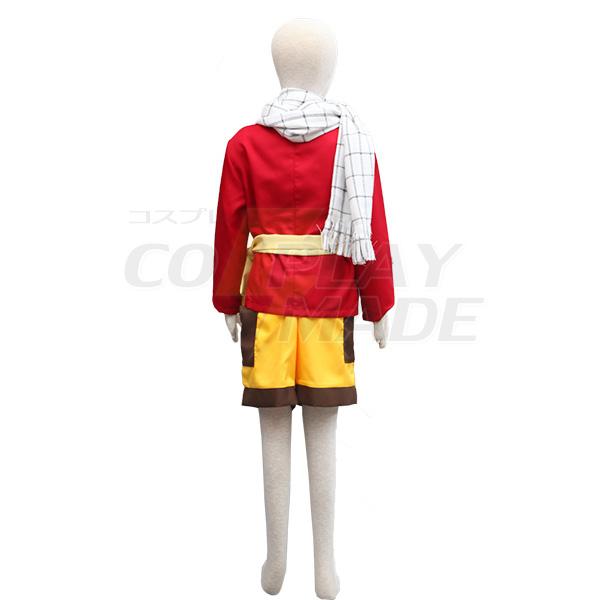 Costumi Fairy Tail Dragon Slayers Natsu Dragneel Kid Cosplay