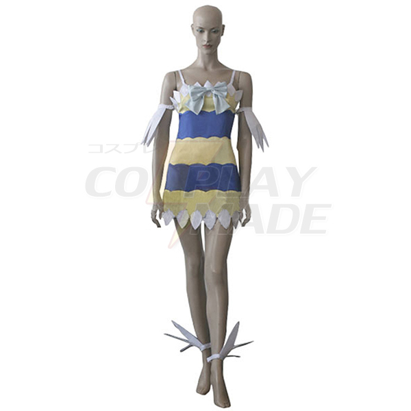 Disfraces Fairy Tail Dragon Slayers Wendy Marvell Girl Vestido Cosplay