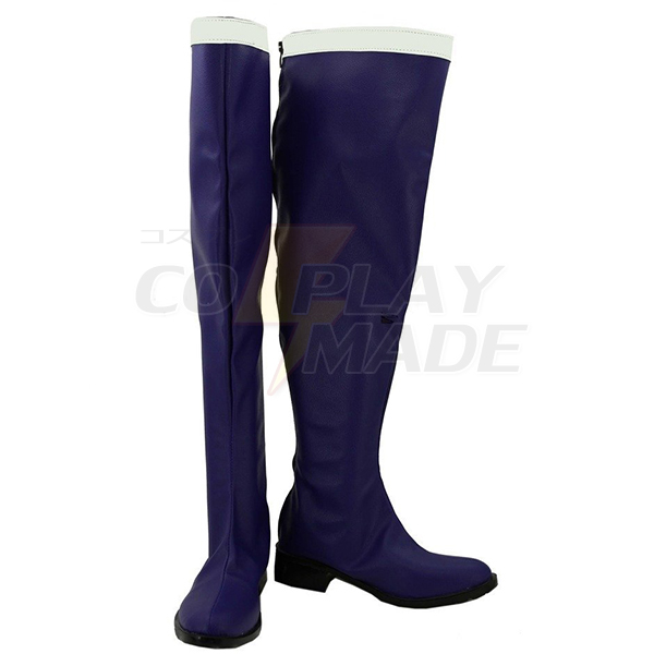 Fairy Tail Erza Scarlet Cosplay Boots Custom Made Shoes