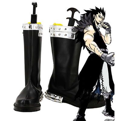 Fairy Tail Gajeel Reitfox Cosplay Bottes Carnaval Chaussures