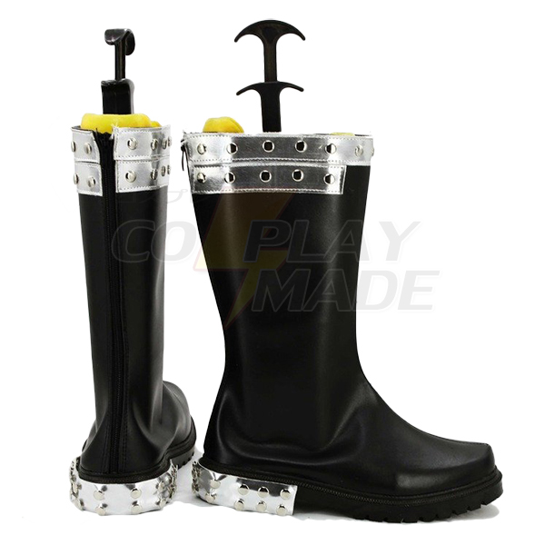 Fairy Tail Gajeel Reitfox Cosplay Boots Custom Made Shoes