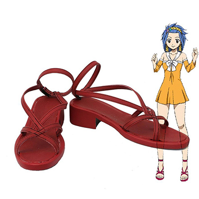 Fairy Tail Levy McGarden Cosplay Boots Custom Made Shoes