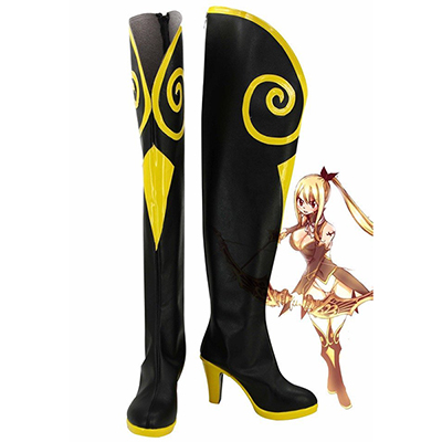 Fairy Tail Lucy Cosplay Sagittarius Boots Custom Made Shoes