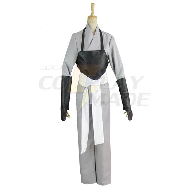 Gintama White Demon\'s Birth Sakata Gintoki Kimono Cosplay Kostume