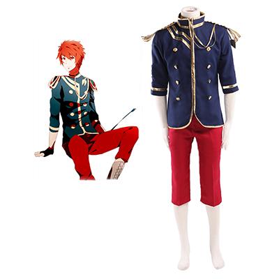 Uta no Prince-sama Otoya Ittoki Military Uniform Cosplay Kostym Karneval