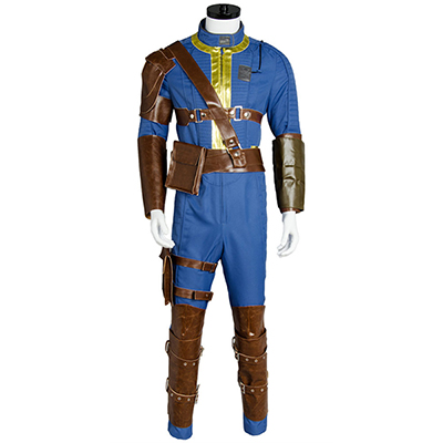 Fantasias de Fallout 4 Nate Vault Male Sole Survivor Nate Cosplay
