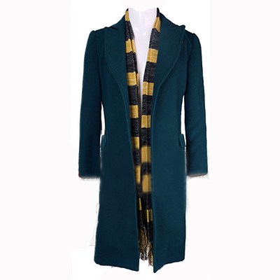Fantastic Beasts and Where to Find Them Newt Scamande Trench Cosplay Puku Asut