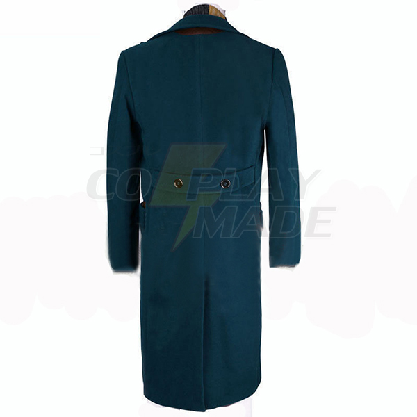 Fantastic Beasts and Where to Find Them Newt Scamande Trench Cosplay Costume
