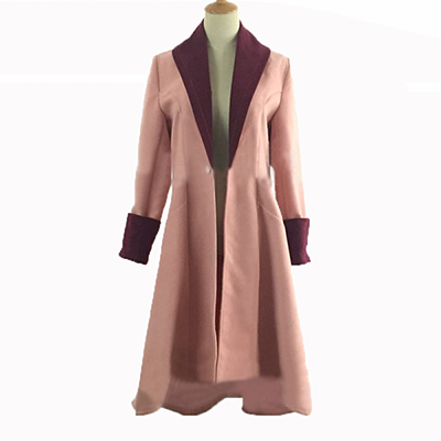 Fantastic Beasts and Where to Find Them Tina Goldstein Cosplay Kostuum Roze Jas