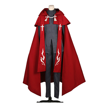 Fate∕Apocrypha Amakusa Shirou Tokisada Shirou Kotomine Cosplay Kostyme