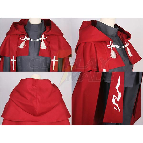 Fate∕Apocrypha Amakusa Shirou Tokisada Shirou Kotomine Cosplay Costume