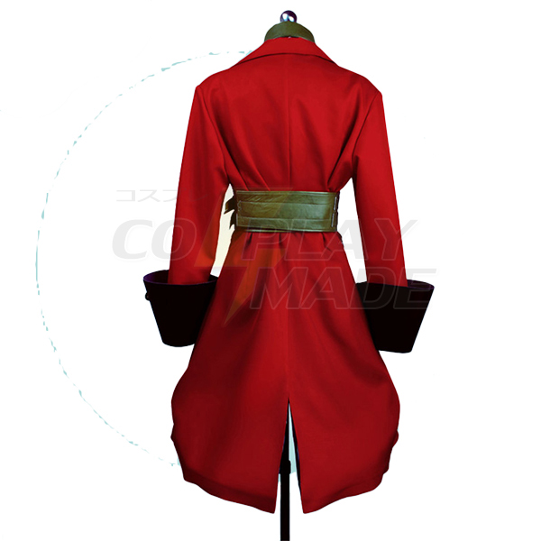 Fate/Extra Francis Drake Coat Cosplay Costume Perfect Custom
