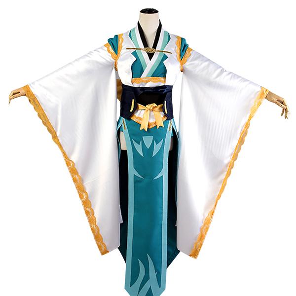 Disfraces Fate Grand Order Kiyohime Cosplay Escenario Carnaval Ropa