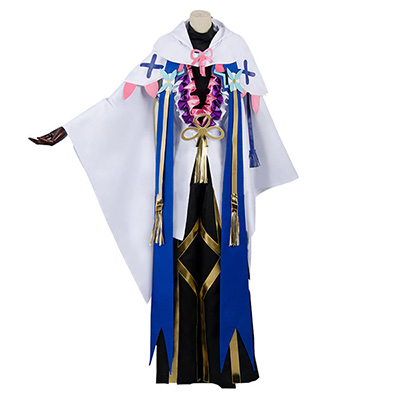Fate Grand Order Merlin Ambrosius Cosplay Costume Cosplay Coat