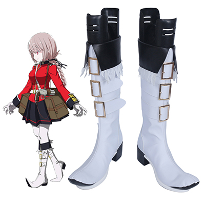 Fate Grand Order Nightingale Cosplay Chuteiras Carnaval Sapatos