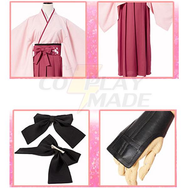 Fate Grand Order Saber Sakura Cosplay Costume Perfect Custom