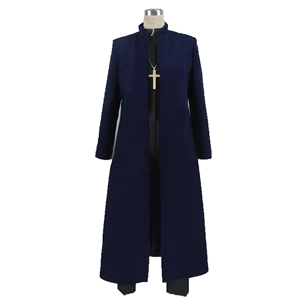 Fate∕Grand Order Kotomine Kirei Cosplay Costume Customize Any Size