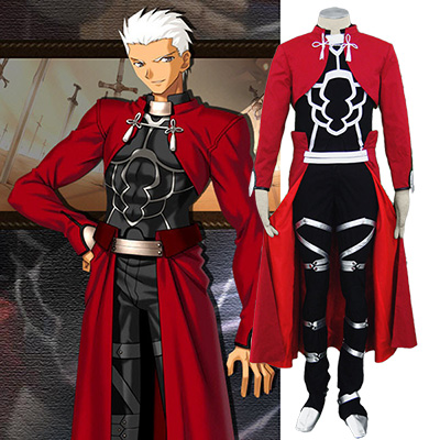 Fate Zero Fate Stay Night Archer Cosplay Kostym