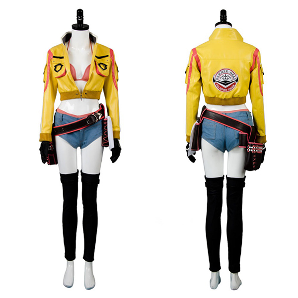 Costumi Final Fantasy FF15 Cindy Aurum Gas Giacca Cosplay Uniforme