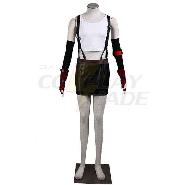 Costumi Final Fantasy Tifa Lockhart Cosplay