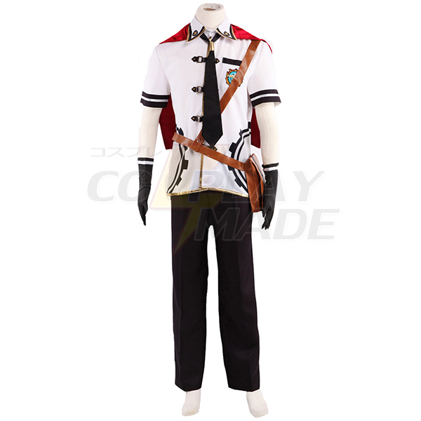 Final Fantasy Type-0 Suzaku Peristylium Class Zero Machina Cosplay Costume