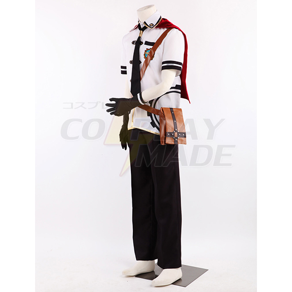 Costumi Final Fantasy Type-0 Suzaku Peristylium Class Zero Machina Cosplay