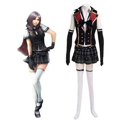Final Fantasy Type-0 Suzaku Peristylium Class Zero Sumer School Costume Cosplay