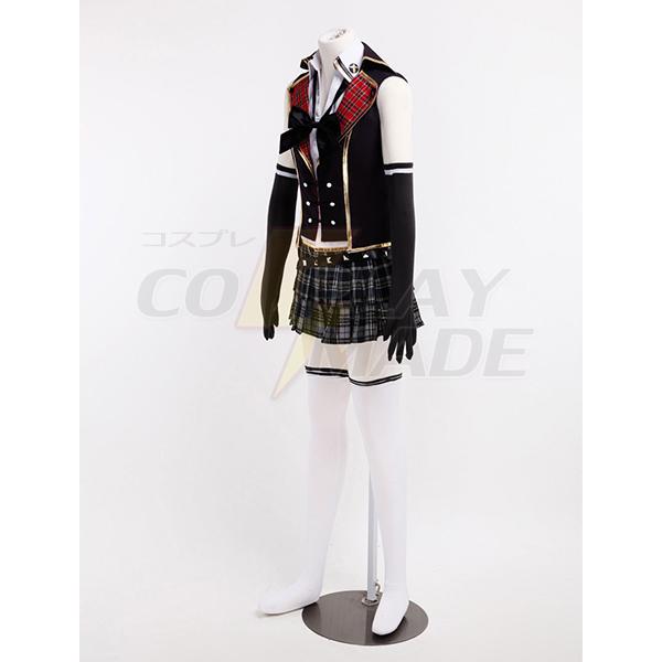 Costumi Final Fantasy Type-0 Suzaku Peristylium Class Zero Scuola Estiva Cosplay