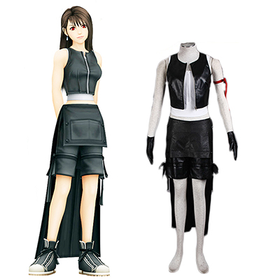 Final Fantasy VII Advent Children Tifa Lockhart Cosplay Costume