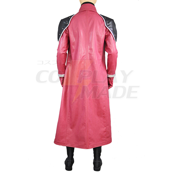 Final Fantasy VII Genesis Rhapsodos Red Cosplay Costume