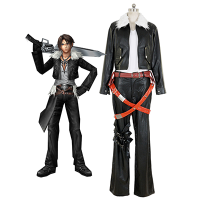 Fantasias de Final Fantasy VIII 8 Squall Lionheart Movie Cosplay Carnaval