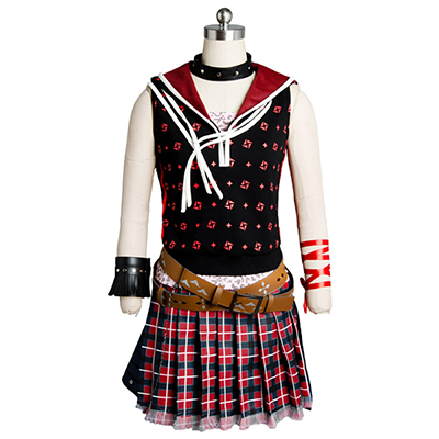 Final Fantasy XV FF 15 Iris Amicitia Cosplay Costume Dress Gown Uniform Suit