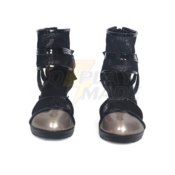 Final Fantasy XV Kingsglaive Lunafreya nox fleuret Cosplay Shoes Sandals Custom