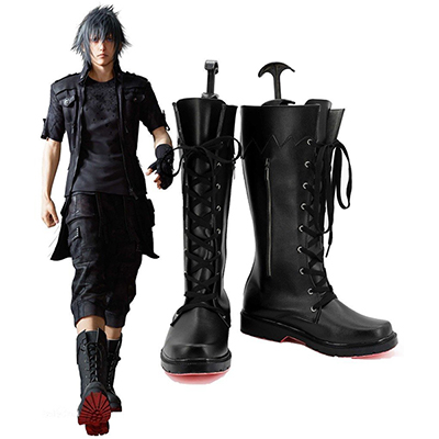 Final Fantasy XV Noctis Lucis Caelum Cosplay Chaussures Bottes Carnaval
