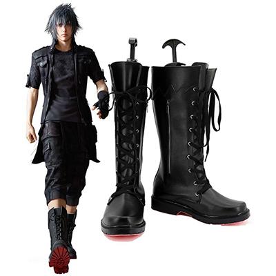 Zapatos Final Fantasy XV Noctis Lucis Caelum Cosplay Botas Carnaval
