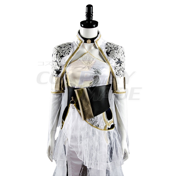 Final Fantasy XV Lunafreya Nox Fleuret Kingsglaive Dress Cosplay Costume