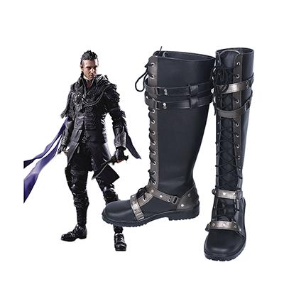 Final Fantasy XV Nyx Ulric Cosplay Støvler Karneval Kingsglaive Sko
