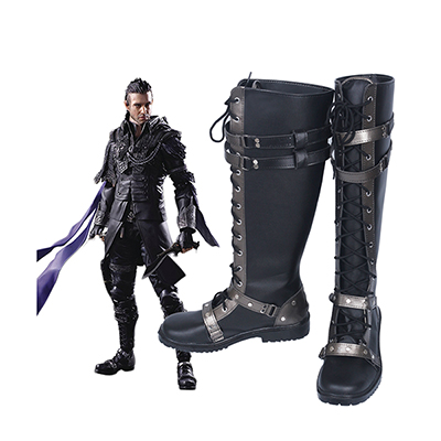 Final Fantasy XV Nyx Ulric Faschings Cosplay Stiefel Nach Maß Kingsglaive Schuhe