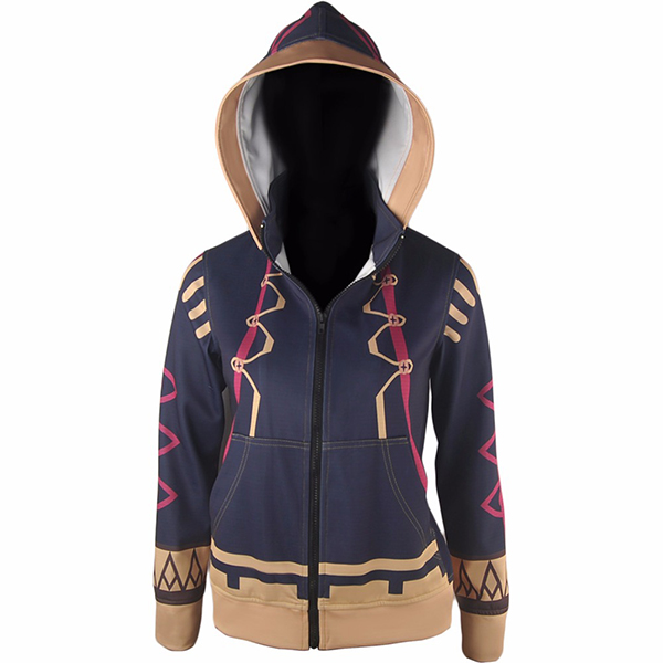 Fire Emblem Awakening Female Robin Hoodie Jacket Cosply Ccostume