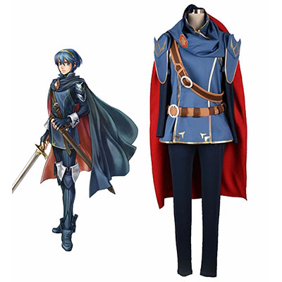 Fire Emblem Awakening Marth Cosplay Kostym